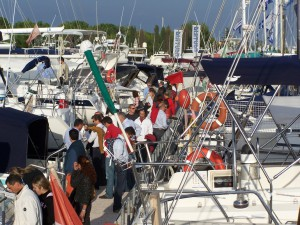Die Nautila Gebrauchtbootmesse lockt jedes Jahr rund 1000 Besucher nach Latisana
