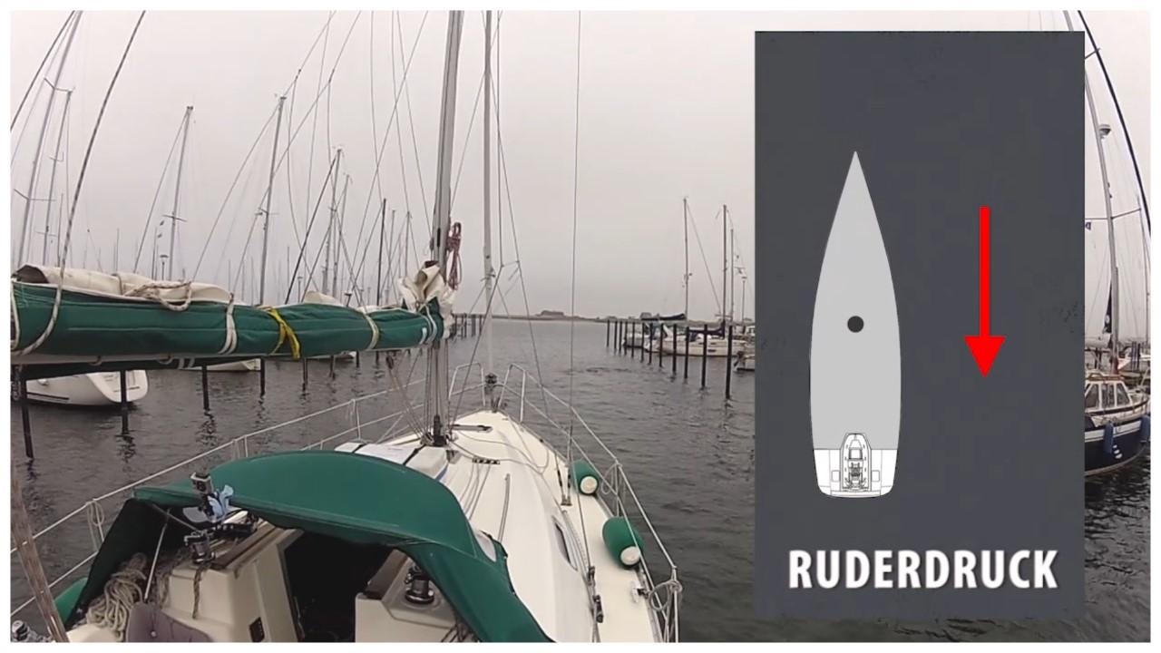 Hafenmanöver RUDERDRUCK