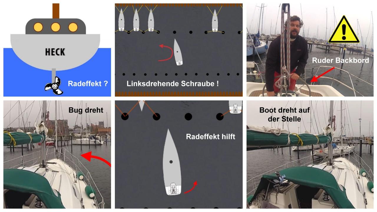 Hafenmanöver Enge Wende mit Guido Dwersteg.