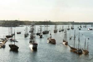 Viele der Tall-Ships nehmen auch Gäste an Bord, (c) Hanse Sail Rostock / Lutz Zimmermann