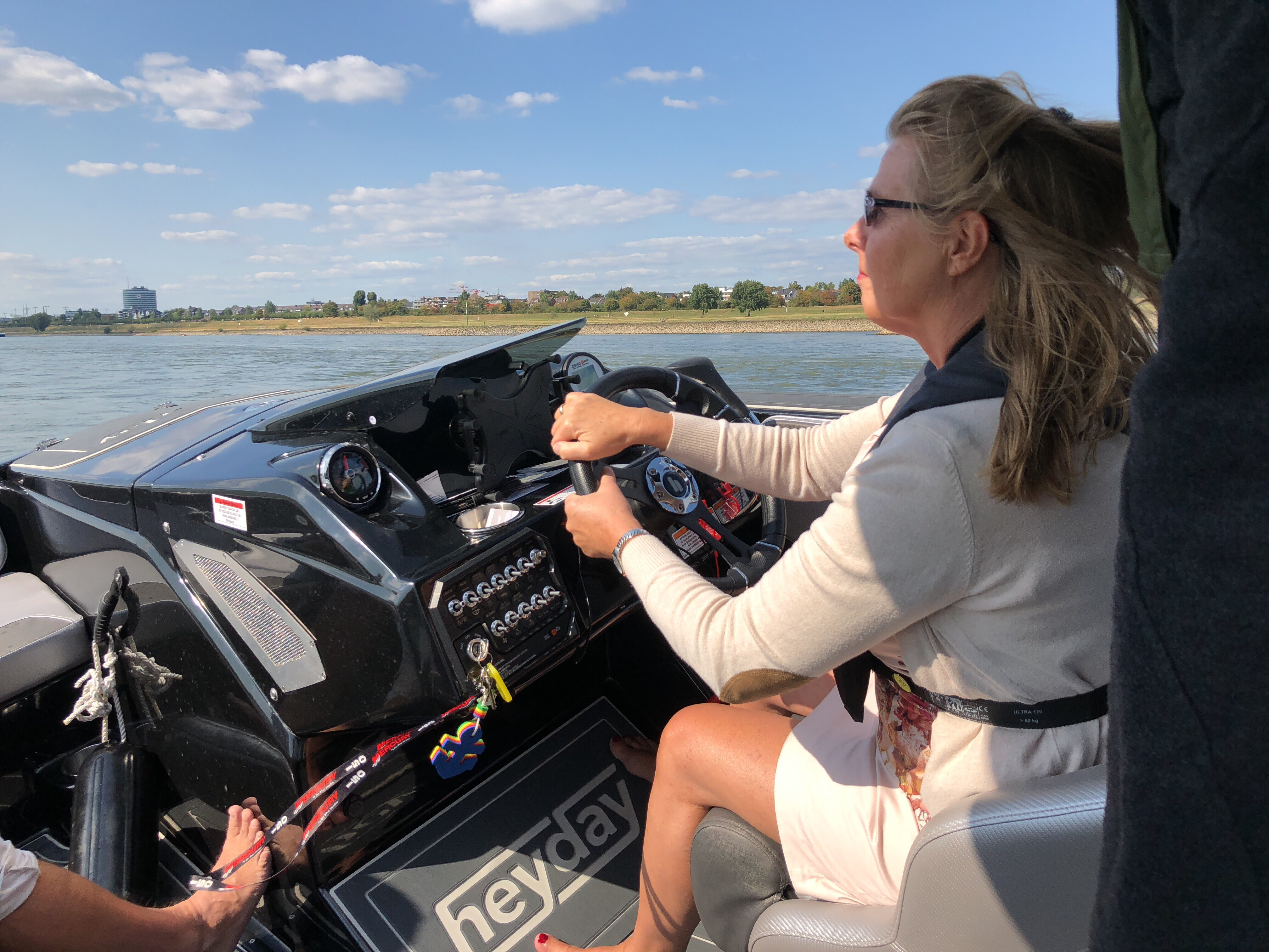 Start Boating: am 1. und 2. September 2018 können Interessierte das Ruder selbst in die Hand nehmen.