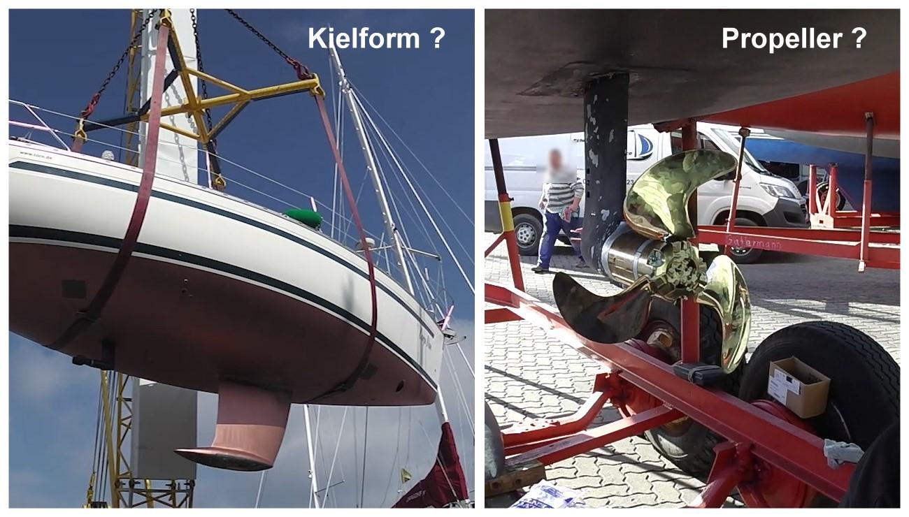 Das Richtige Boot für Einhandsegler: Guido Dwersteg setzt auf einen Kurzkiel und den richtigen Propeller.