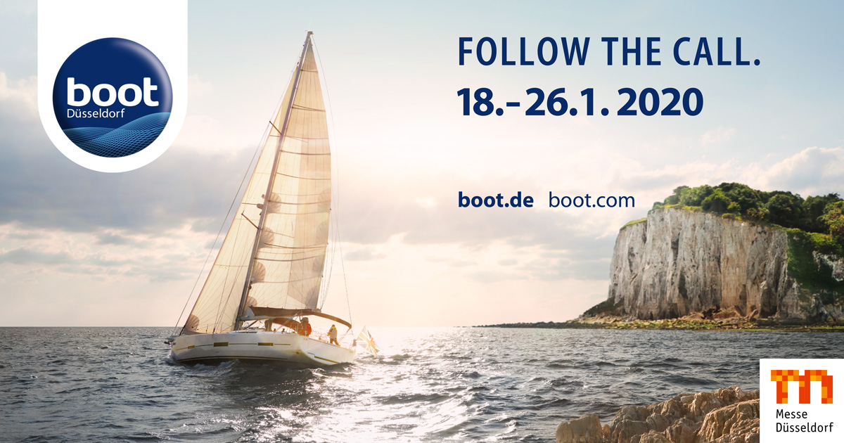 boot Düsseldorf 2020 - follow the call