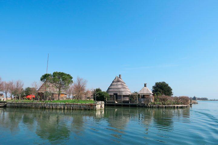 Italienische Adria Golf von Venedig