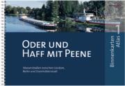 Der Binnenkarten Atlas 1 - Oder und Haff mit Peene umfasst Wasserstraßen zwischen Usedom, Berlin und Eisenhüttenstadt.