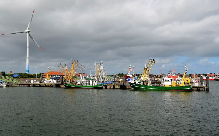 Borkum Burkana Hafen