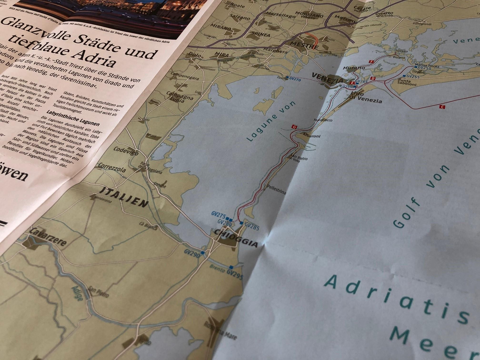 Karte mit Suchnummern BTI.