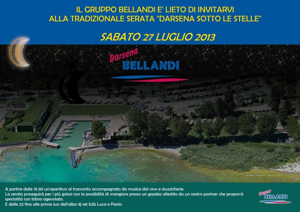 Die Marina am Gardasee feiert: Darsena Sotto Le Stelle