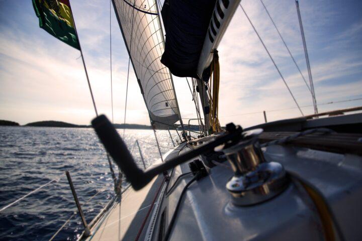 Deck Segelyacht