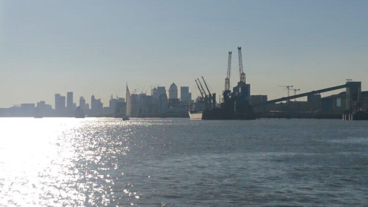 London in Sicht
