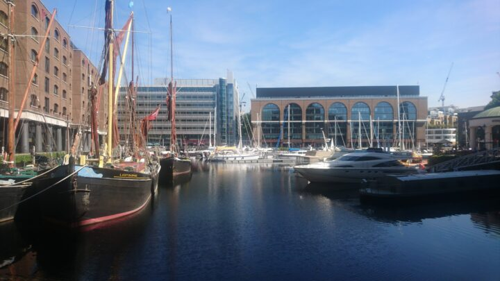 St Katharine Docks Marina