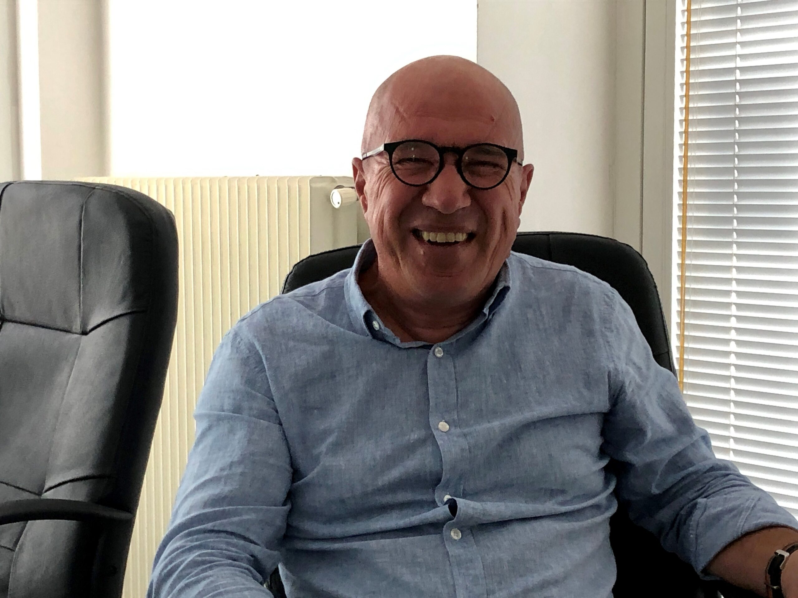 Fortunato Moratto, einer der Geschäftsführer von FVG Marinas und Chef der Marina Sant'Andrea freut sich über die erneute Auszeichnung mit der Blauen Flagge.