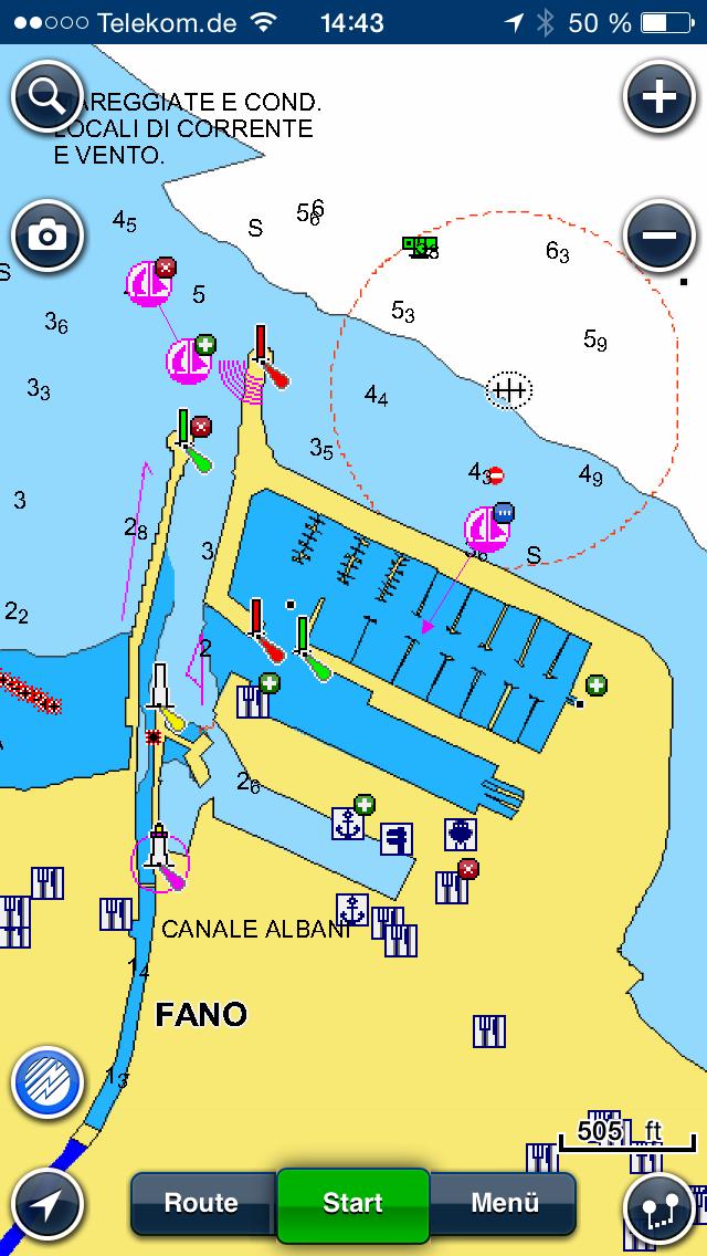 Seekarten App