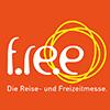 Logo der größten Freizeit- und Reisemesse in Bayern: f.re.e.