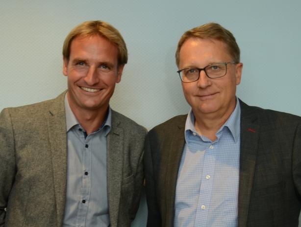 Zwei Männer – ein Ziel: Dr. Steffen Häbich, Verantwortlicher für die Wassersportaktivitäten des ADAC (links), und FSR-Vorsitzender Michael Dibowski setzen sich für Sicherheit im Wassersport ein.