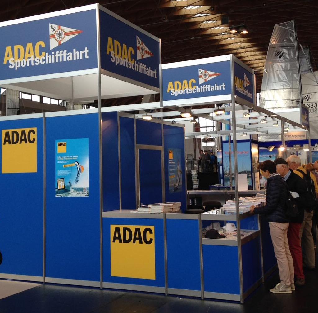ADAC Messestand Interboot Friedrichshafen