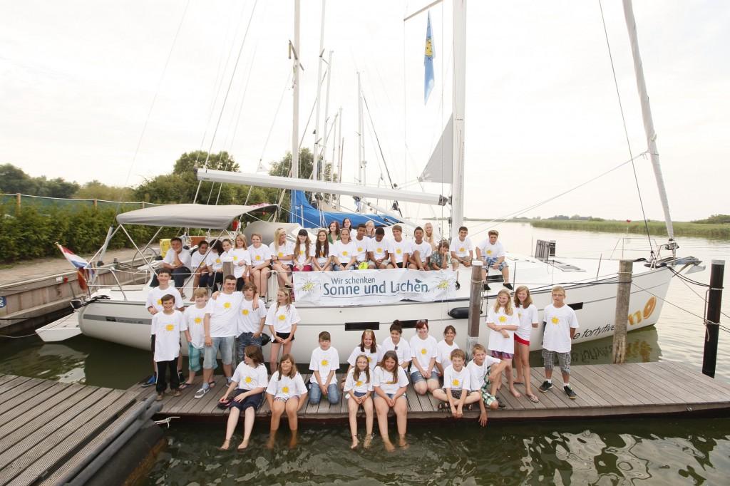 Hoffnungsflotte sunshine4kids in den Niederlanden