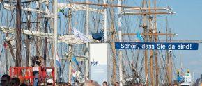 Willkommen zur 25. Hanse Sail heißt es vom 6. bis 9. August wieder in der Hansestadt Rostock.