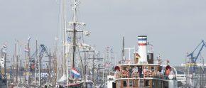 Rauf auf's Schiff und rein ins Abenteuer: Einfach mitsegeln ist das Motto der Hanse Sail Rostock