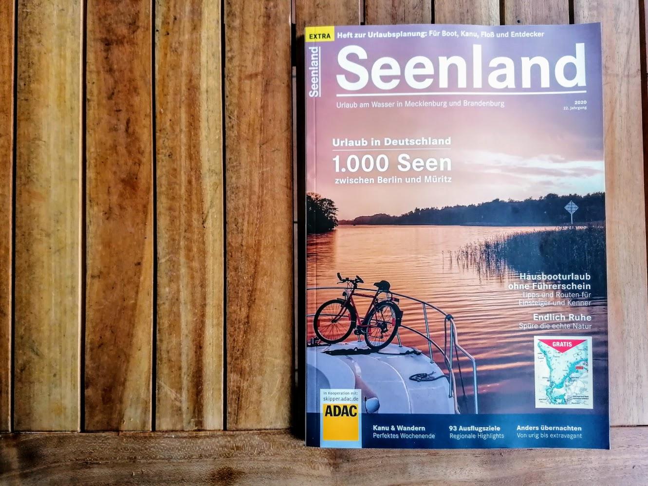 Seenland Magazin Cover