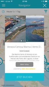 Marina Vento di Venezia über ADAC Marina-Portal buchen