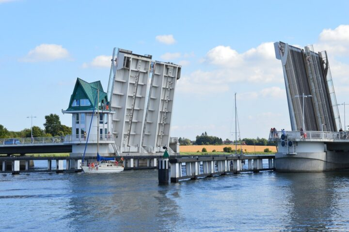 Klappbrücke in Kappeln