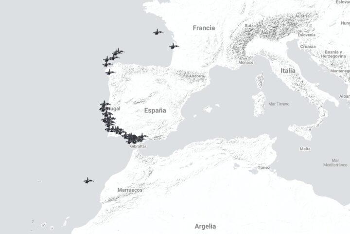 Karte Orca Angriffe (GTOA)