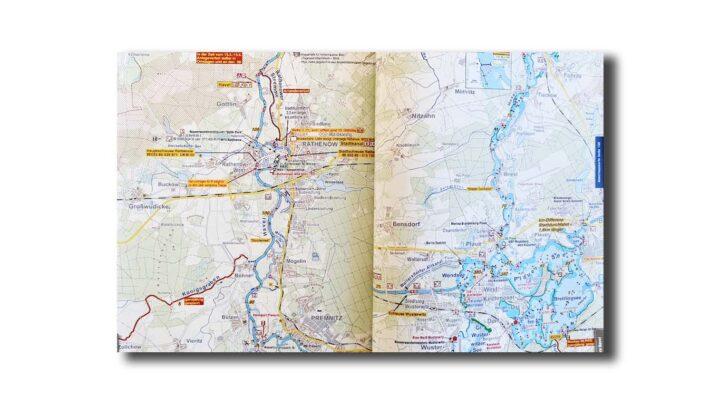 Kartenteil Seenland Magazin