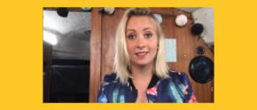 Kim Burmeister im Videochat