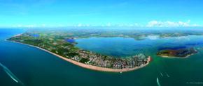 Die Lagune von Marano in der Vogelperspektive (c) Promoturismo FVG_ArtGrafica