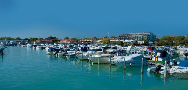 Porto Turistico Marina Uno – ADAC Stützpunktmarina am Ufer des Tagliamento bei Lignano gelegen. © FVGMarinas