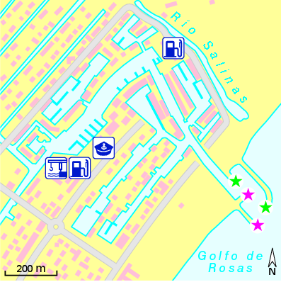 Lageplan: Marina d'Empuriabrava