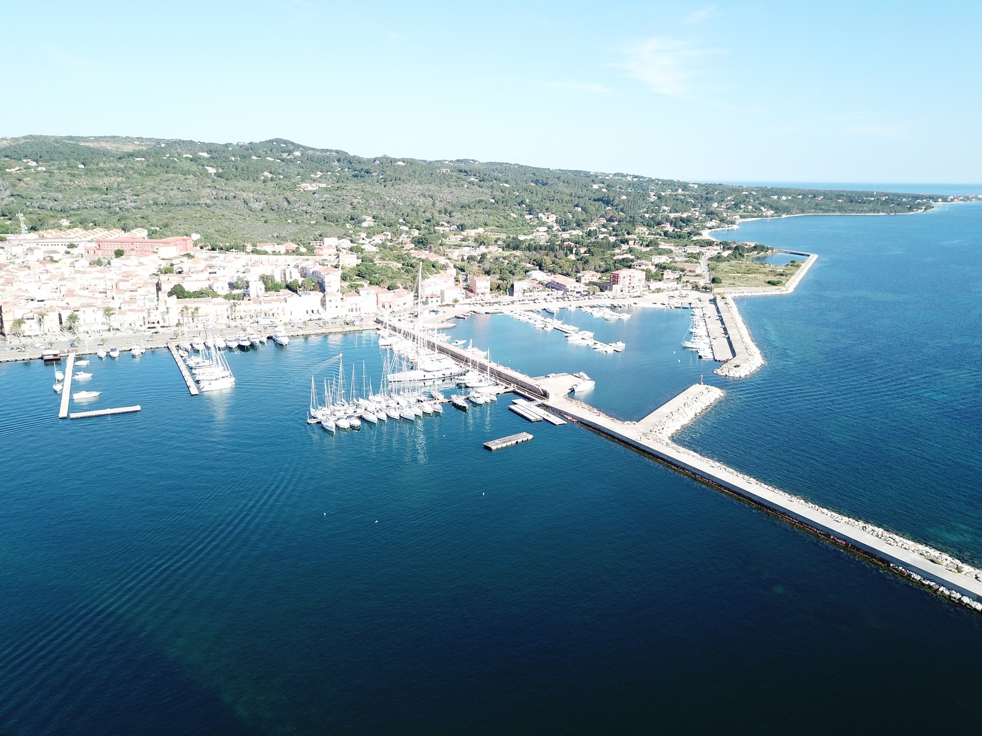ADAC Stützpunktmarina Marine Sifredi Carloforte, Isola San Pietro, Sardinien.