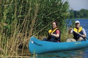Kanu auf der Havel