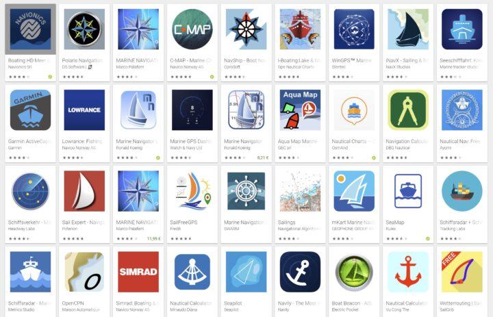 Navi Apps im Appstore