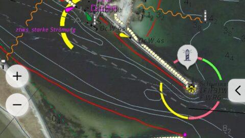 NV Chart Satellitenkarte
