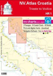 Kombipack: Papierkarte & digitaler Download inklusive nv charts App.