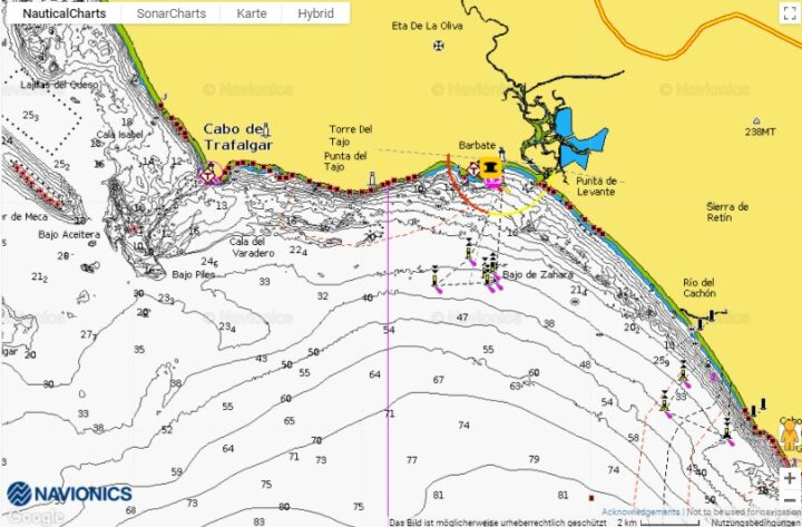 Orca Sperrzone Spanien