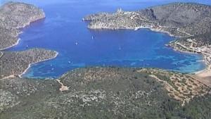 Beliebte Anlaufstelle für Chartercrews: der Naturhafen von Cabrera