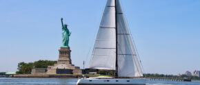 SY Escape, segeln vor New York