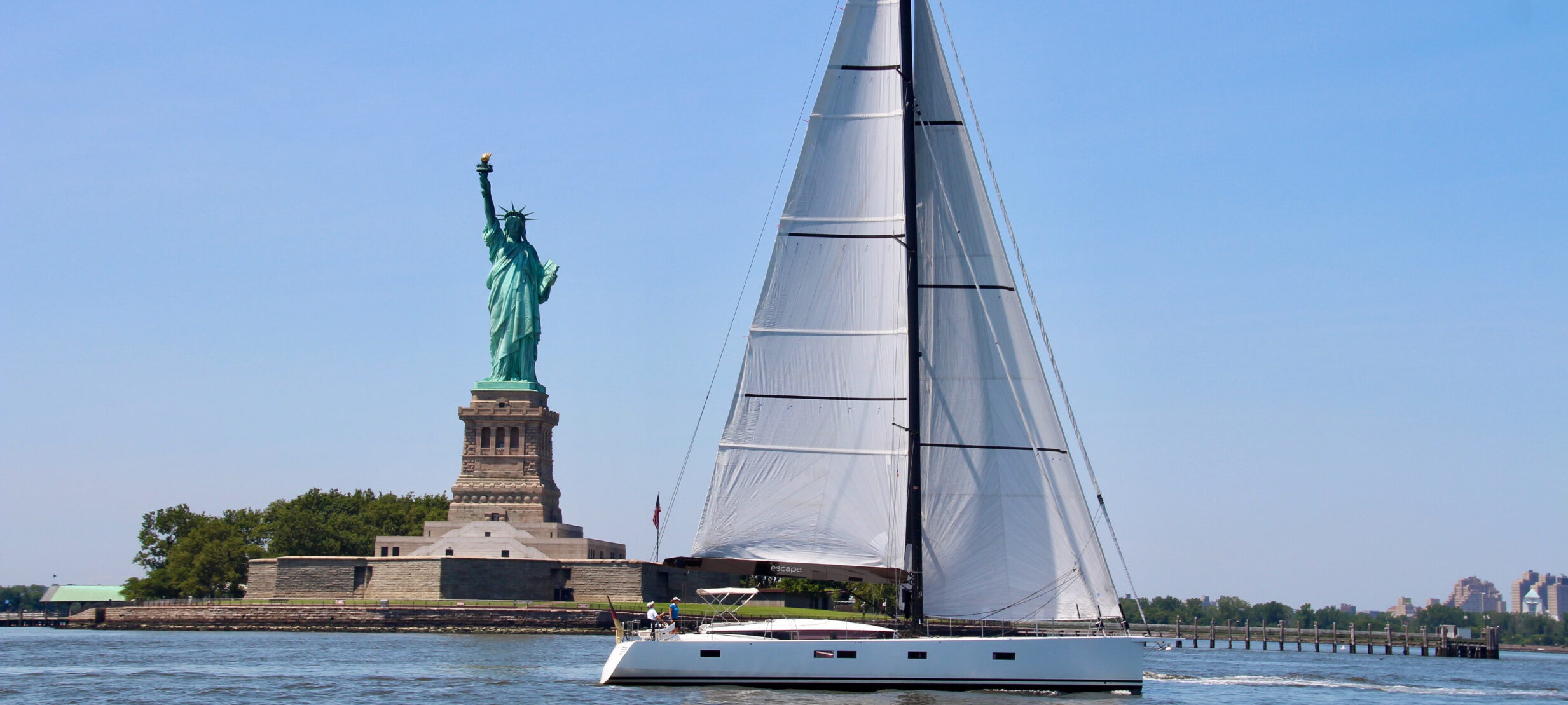 SY Escape, segeln vor New York