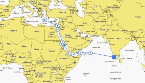 Die Route nach Europa
