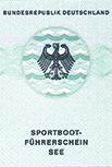 Ausweisdokument Sportbootführerschein See