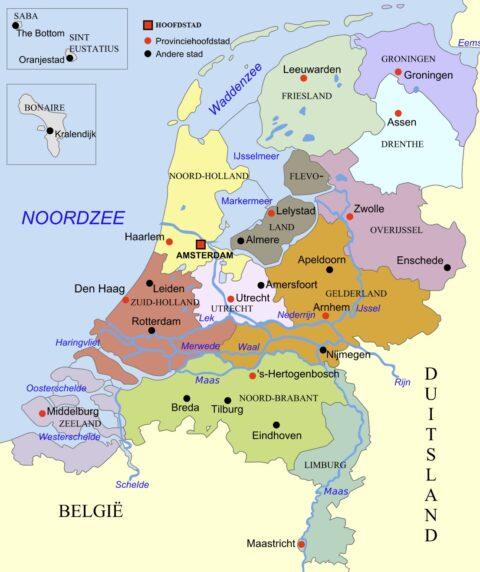 Provinzen NL