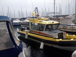 Das neue SeaHelp-Einsatzboot