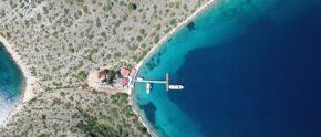 Motoryacht der Splendid -Flotte in Kroatien.