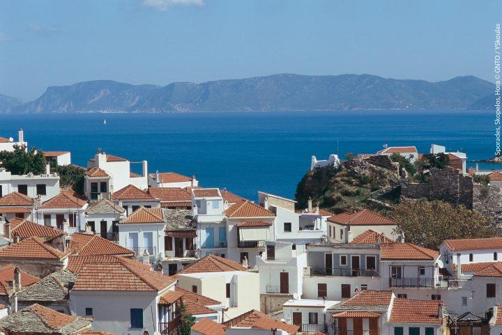 Sporades Skopelos Hora. Photo: YSkoulas