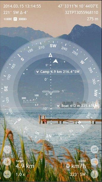 Spyglass AR Darstellung