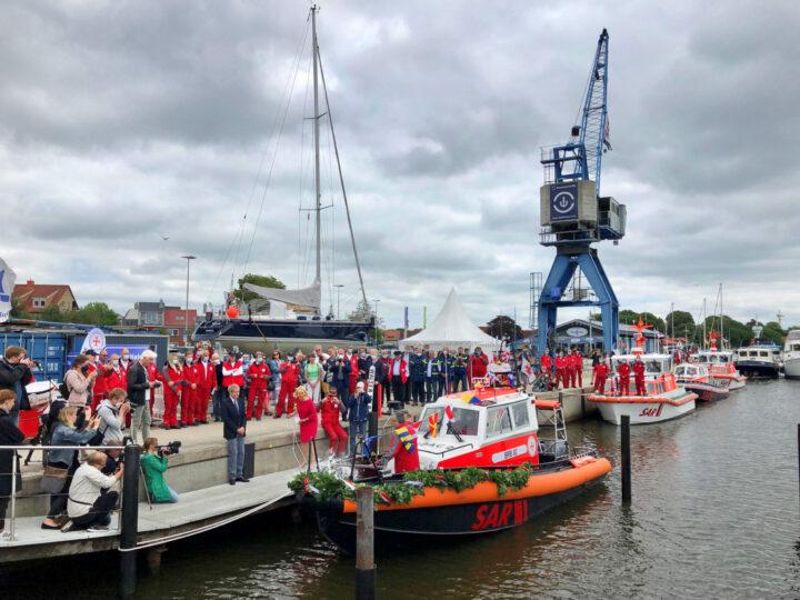 Taufe-Seenotrettungsboot