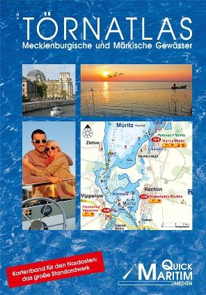 Der Törnatlas von Quick Maritim beschreibt gut 1700 Kilometer Wasserwege auf 84 detaillierten Wasserstreckenkarten